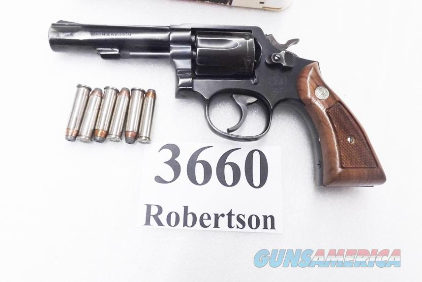 Smith & Wesson .357 Magnum Model 13-4 Blue 4 inch Heavy Barrel 1991   Guns > Pistols > Smith & Wesson Revolvers > Full Frame Revolver