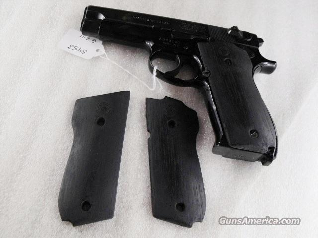 Grips for Smith & Wesson model 39 or 639 Triple K Ebony colored hardwood with S&W Logos NIB   Non-Guns > Gunstocks, Grips & Wood