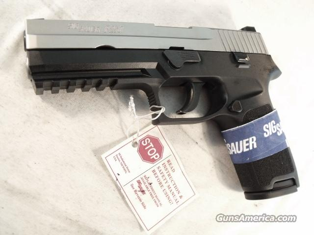 Sig P-250 9mm Stainless Night Sights 1 Mag DAO NIB Sig Arms Sauer P-250   Guns > Pistols > Sig - Sauer/Sigarms Pistols > P250
