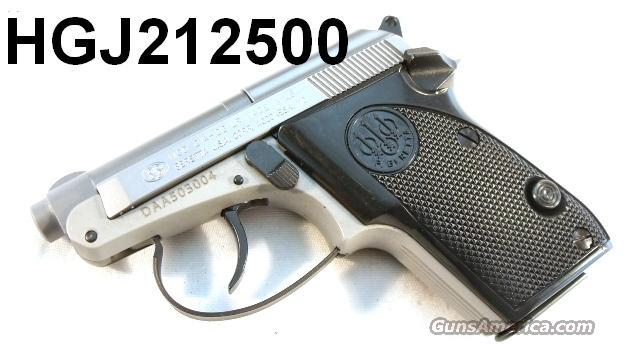 Beretta .22 LR model 21 Bobcat Inox Stainless NIB  Guns > Pistols > Beretta Pistols > Small Caliber Tip Out