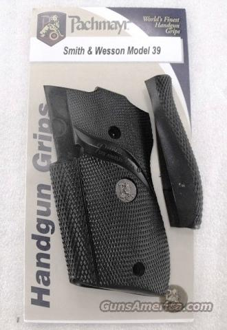 Smith & Wesson model 39 439 639 Pachmayr Signature 9mm GRSW39 03306   Non-Guns > Gun Parts > Grips > Smith & Wesson