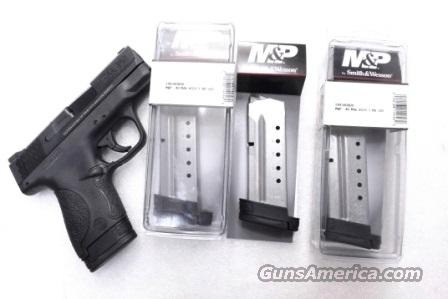 3 or more Smith & Wesson M&P Shield .40 S&W Factory 7 Shot Magazines Stainless 19934 MP40 Extension Plate $39 per on 3 or more  Non-Guns > Magazines & Clips > Pistol Magazines > Smith & Wesson