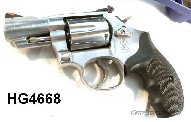 S&W .357 model 66-7 Sts 2 1/2 in Round Butt Exc 2007 CA Legal  Guns > Pistols > Smith & Wesson Revolvers > Full Frame Revolver