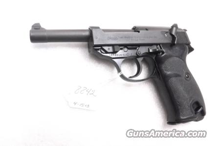 Walther 9mm P38 variant P1 Lightweight Military 1964 P-1 Hex Reinforced Frame German Federal Border Guard BGS P-38 Descendant CA OK with 1 Factory 8 Shot Magazine  Guns > Pistols > Walther Pistols > Post WWII > P38