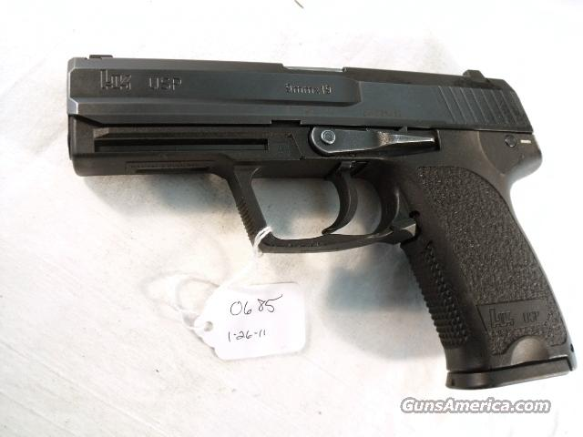 H&K 9mm USP Variant 2 LEFT HAND SAFETY VG 1995 with 2 LE 15 round Mags Heckler & Koch Automatic New Hanover County North Carolina Sheriff's Department   Guns > Pistols > Heckler & Koch Pistols > Polymer Frame