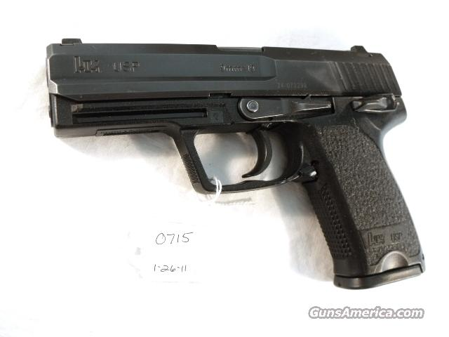 H&K 9mm USP Variant 1 VG 2001 with 2 LE 15round Mags Heckler & Koch Automatic New Hanover County North Carolina Sheriff's Department 709001	  Guns > Pistols > Heckler & Koch Pistols > Polymer Frame