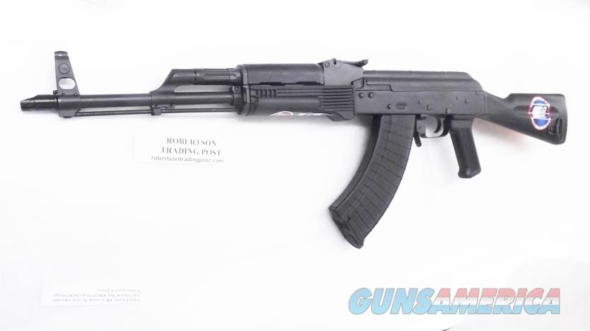 Inter Ordnance US Made Lifetime Warranty AK47 7.62x39 Radom AKM Type Heat Treated Receiver One 30 Shot Magazine Shovel Nose 16 inch Black Synthetic Stock IODM2002  Guns > Rifles > AK-47 Rifles (and copies) > Full Stock