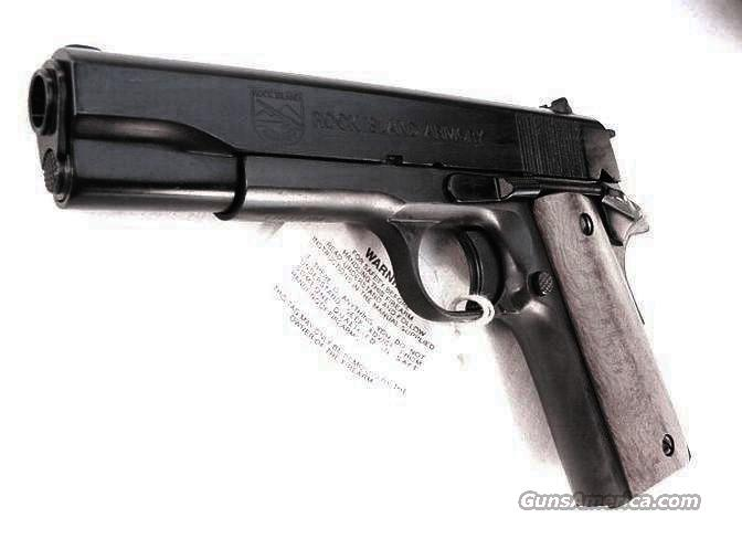 Rock Island 1911A1 .45 ACP NIB Armscor Colt Government type 45 Automatic ACP Basic Military Model  Guns > Pistols > Military Misc. Pistols US > 1911 Pattern