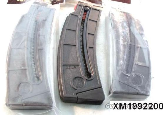 Lots of 3 or more Smith & Wesson Factory 25 Shot .22 LR Magazines for MP1522 Pistols and Rifles 22 Long Rifle M&P 15-22 SKU 199220000 $23 per on 3 or more  Non-Guns > Magazines & Clips > Rifle Magazines > Other