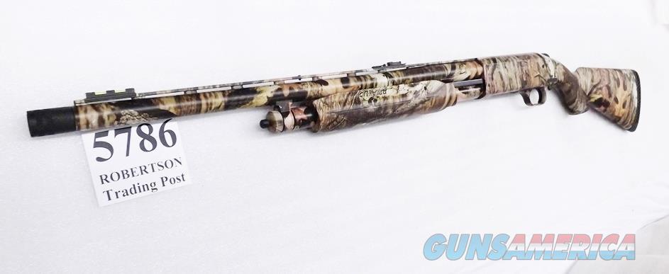 Mossberg 12 gauge model 535 MOBU Camo 3 1/2 inch 22 in Turkey XF Vent Rib Fiber Optic Red Green Exc in Box 45236 3.5 Magnum Pump Shotgun Slug Compatible  Guns > Shotguns > Mossberg Shotguns > Pump > Sporting