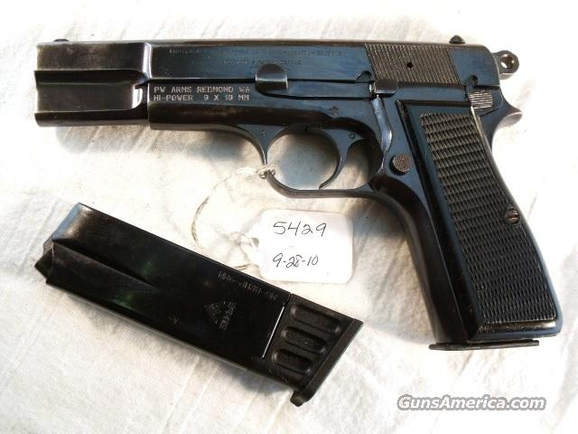 FN Browning 9mm Hi-Power Israeli Reblue Good 1969 w/2 Magazines  Guns > Pistols > FNH - Fabrique Nationale (FN) Pistols > High Power Type