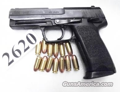 H&K .45 USP Variant 3 VG 1997 Roanoke VA PD Heckler & Koch USP 45 Automatic V III  13 Shot with 1 Magazine 214814 Firearm Handgun Pistol 45 Automatic H&K HK 704503	  Guns > Pistols > Heckler & Koch Pistols > Polymer Frame