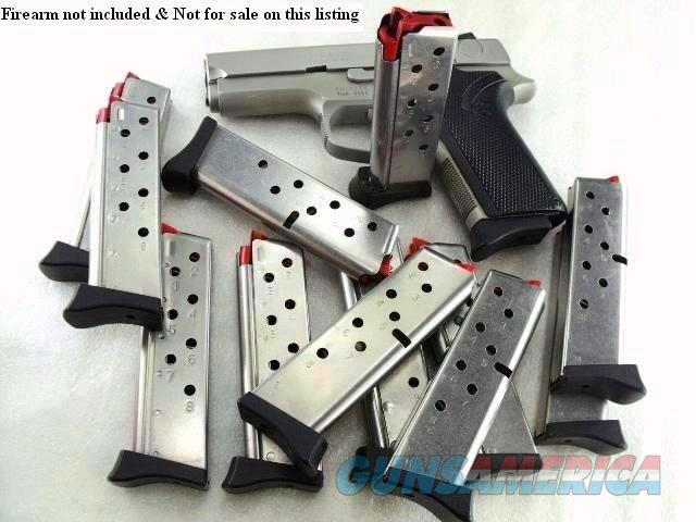 Lots of 3 Magazines S&W 9mm 8 Shot Models 3913 3914 3953 908 with Finger Rest Excellent Smith & Wesson Factory $33 per on 3 or more  Non-Guns > Magazines & Clips > Pistol Magazines > Smith & Wesson