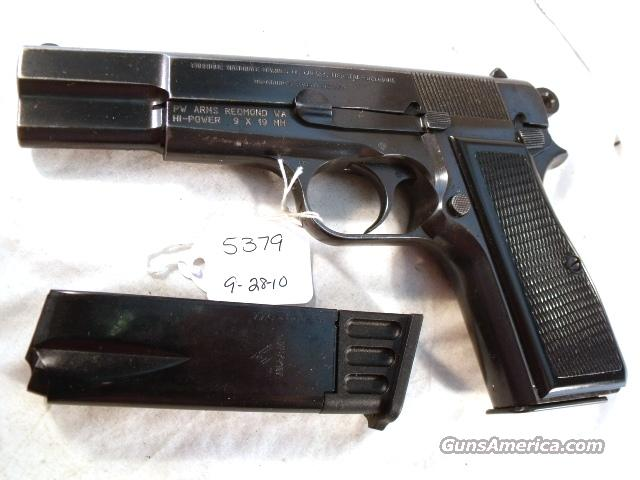 FN Browning 9mm Hi-Power Israeli Good 1964 w/2 Magazines  Guns > Pistols > FNH - Fabrique Nationale (FN) Pistols > High Power Type