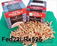 Ammo: Fed .22 LRHP Bulk Pack 525  Ammunition