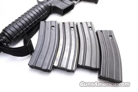 AR15 Lot of 4 Magazines 30 Shot Gray Alloy 2 Bushmaster & 2 GI Contractors VG-Exc $19.75 per on all 4  Non-Guns > Magazines & Clips > Rifle Magazines > AR-15 Type