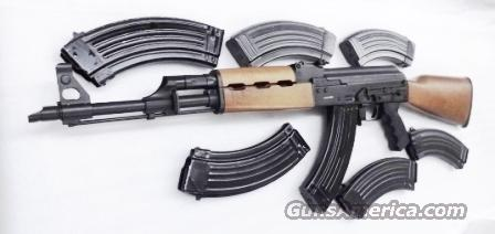 Zastava AK47 7.62x39 M70 Century Arms NPAP Variant with 7 total 30 Shot Magazines Shovel Nose 16 inch Classic Wood Stock $ 589 + 5x$10  Guns > Rifles > Century International Arms - Rifles > Rifles