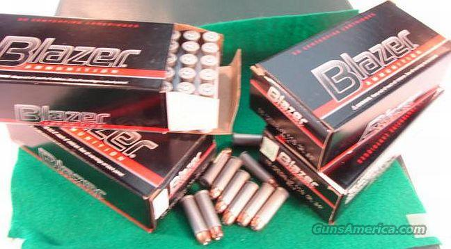 Ammo: .38 Special +P CCI Blazer 124 gr JHP 50 round Box Case Lots Available 38 Spl   Non-Guns > Ammunition