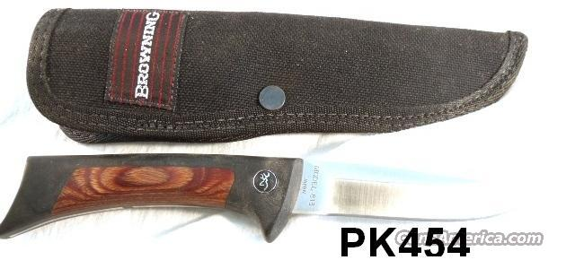 Knife Browning model 813 Japan Skinner Exc Unsharpened w/Scabbard  Non-Guns > Knives/Swords > Knives > Fixed Blade > Imported