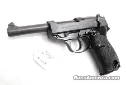 Walther 9mm P38 Lightweight Military 1960 P-38 German Federal Border Guard BGS CA C&R OK with 1 Factory 8 Shot Magazine  Guns > Pistols > Walther Pistols > Post WWII > P38