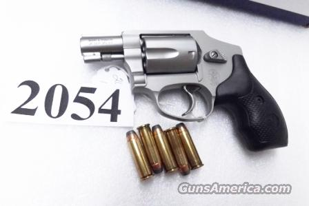 S&W .38 Special +P model 642-1 No Lock Airweight Centennial Stainless 38 Spl  Excellent in Box 103810 Pre-lock Prelock Style Smith & Wesson 103810  Guns > Pistols > Smith & Wesson Revolvers > Pocket Pistols