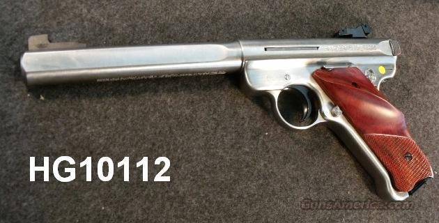 Ruger .22 LR Government Competition Stainless 6 7/8 Slabside NIB  Guns > Pistols > Ruger Semi-Auto Pistols > Mark I & II Family