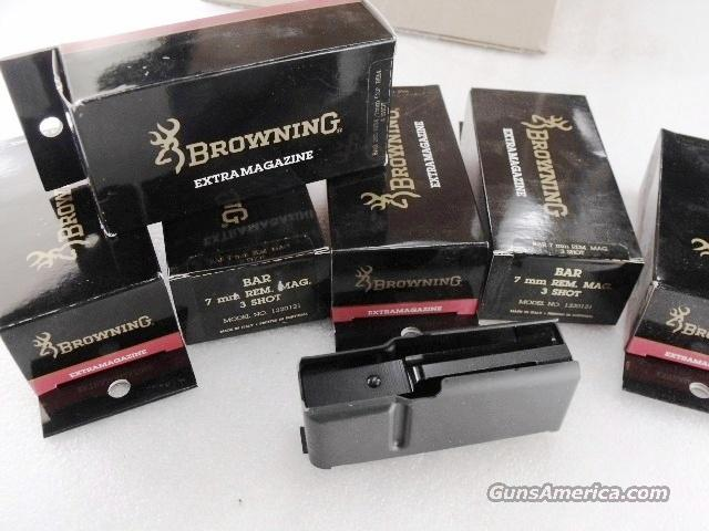 Lots of 3 or more Browning Factory 4 Shot Magazines Old Model BAR 280 XM1320281 270 3006 OK. $33 each per 3 or more.  Non-Guns > Magazines & Clips > Pistol Magazines > Other