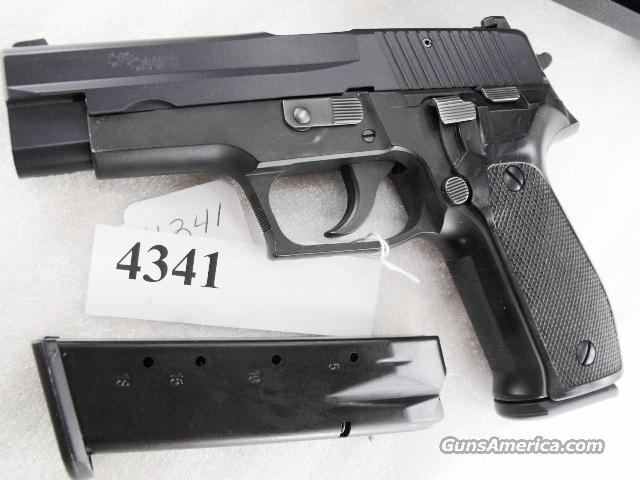 Sig 9mm P-226 Swiss Police Black Ice Teflon Slide 1991 Fribourg P226 Sig Sauer all German with two new Mec-Gar Magazines CA MA OK		  Guns > Pistols > Sig - Sauer/Sigarms Pistols > P226