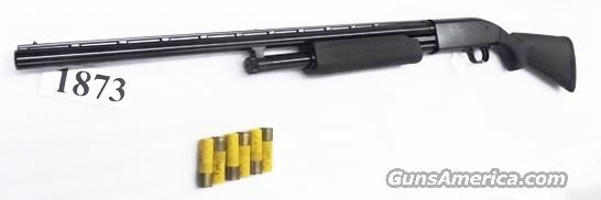Mossberg 20 gauge Maverick 88 Pump Accu 26 inch Vent Rib 3 inch 6 shot Blue & Synthetic Excellent in Box Factory Demo 32200  Guns > Shotguns > Mossberg Shotguns > Pump > Sporting