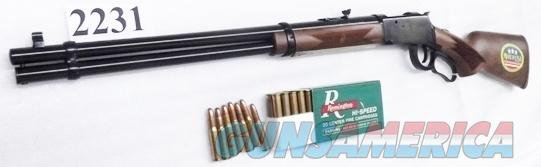 Mossberg .30-30 Winchester 94 AE Angle Eject type model 464 Blue & Walnut 20 inch 7 Shot Tang Safety 41020 Lever Action Repeating Rifle 3030  Guns > Rifles > Mossberg Rifles > Lever Action