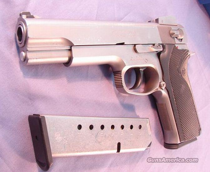 S&W .45 ACP 4506 SS Adjustable VG Mid 1990s  Guns > Pistols > Smith & Wesson Pistols - Autos > Steel Frame