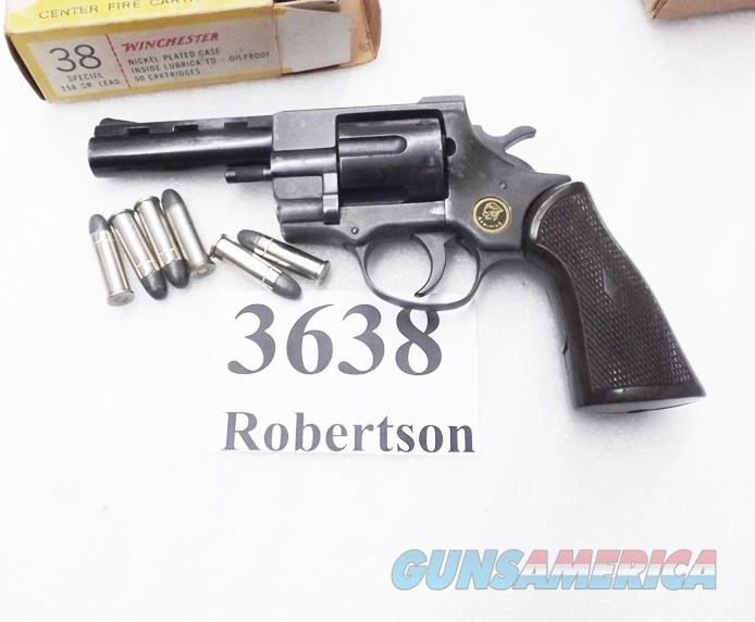EAA Windicator Ancestor .38 Special FIE F38 Titan Tiger 4 inch 6 Shot Vent Rib Service Grips VG 1974 Production Standard 38 Smith & Wesson Special Ammunition  Guns > Pistols > EAA Pistols > Other