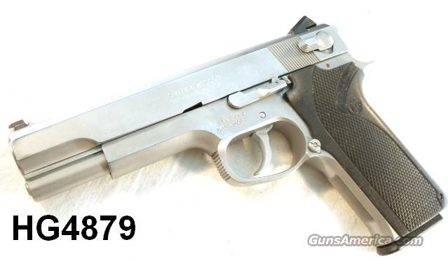 S&W .45 ACP 4506-1 Stainless 5 in Gov't Size 9 Shot 2 Mags VG ca. 1993  Guns > Pistols > Smith & Wesson Pistols - Autos > Steel Frame