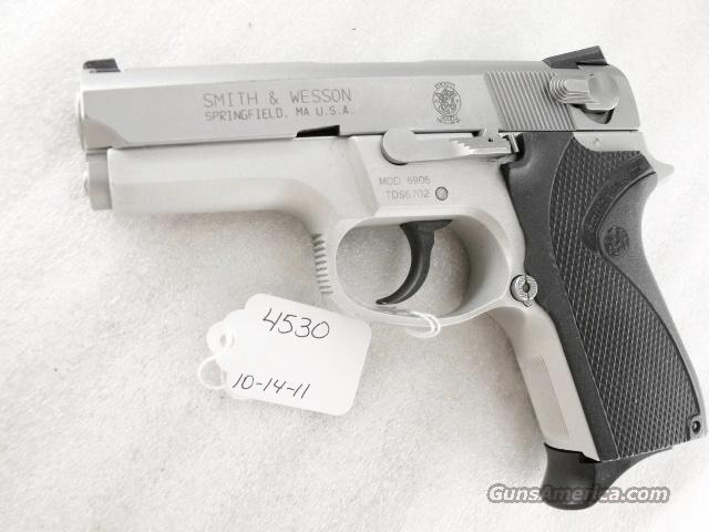 S&W 9mm model 6906 Compact Lightweight Stainless 13 Shot 1 Magazine 1990 California Department of Corrections Smith & Wesson 469 669 Descendant   Guns > Pistols > Smith & Wesson Pistols - Autos > Alloy Frame