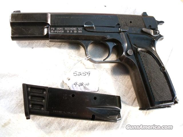 FN Browning 9mm Hi-Power Israeli Good 1992 w/2 Magazines  Guns > Pistols > FNH - Fabrique Nationale (FN) Pistols > High Power Type