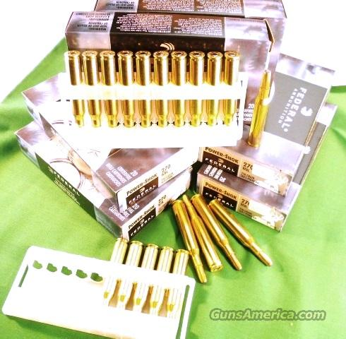 Ammo: .270 Win Federal Power Shok 150 gr SP 20 Box   Non-Guns > Ammunition