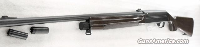 Beretta 12 gauge Pintail Semi Auto Black Eagle close copy 3 inch 24 inch Rifle Sights Mobil Choke with 3 Tubes same thread as Benelli Excellent 2003   Guns > Shotguns > Beretta Shotguns > Autoloaders > Tactical