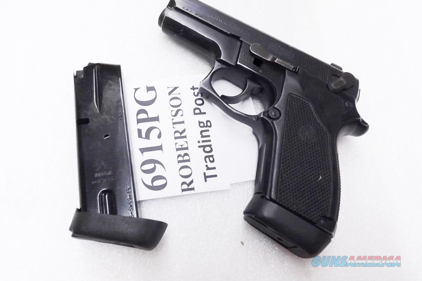 Smith & Wesson 9mm model 6906 Extended 15 Shot Magazine Mec-Gar 5915B with PGS Grip Adapter all new fits S&W models 469 669 6904 6906 6946 XM6915PG  Non-Guns > Magazines & Clips > Pistol Magazines > Smith & Wesson