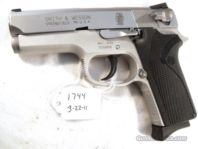 Smith & Wesson 9mm Compact model 3913 Stainless VG 1 Magazine California Department of Corrections   Guns > Pistols > Smith & Wesson Pistols - Autos > Alloy Frame