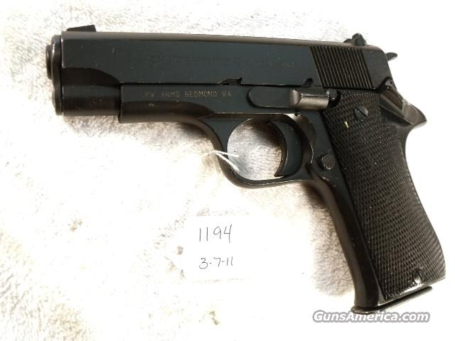 Star 9mm Model BM 9 Compact Israeli Police 1980 VG  Colt Officer's ACP Ancestor PD type Matte Blue Steel 9 Shot BM9 BM-9 Spain Echeverria  Guns > Pistols > Surplus Pistols & Copies