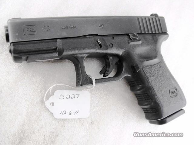 Glock .40 S&W Model Third Generation 14 Shot 1 Magazine PA 1999 mfg  Guns > Pistols > Glock Pistols > 23