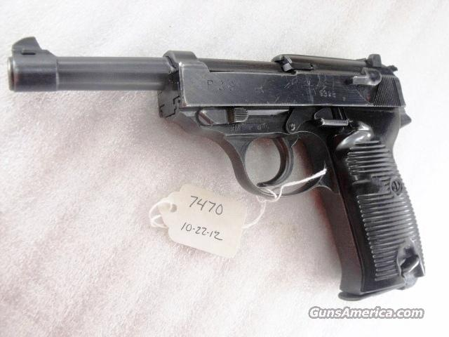 Walther P38 WWII 9mm Nazi Proofed cyq Spreeswerke All Matching VG ca Late 1944  Guns > Pistols > Walther Pistols > Pre-1945 > P-38