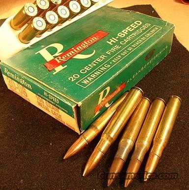 Ammo .30-06 Remington 1960s FMC w/5 Rounds of Lake City Military  Non-Guns > Collectible Cartridges