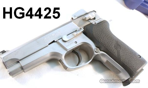 S&W 9mm 5906 Adjustable Stainless 1996 VG 2 LE Mags  Guns > Pistols > Smith & Wesson Pistols - Autos > Steel Frame