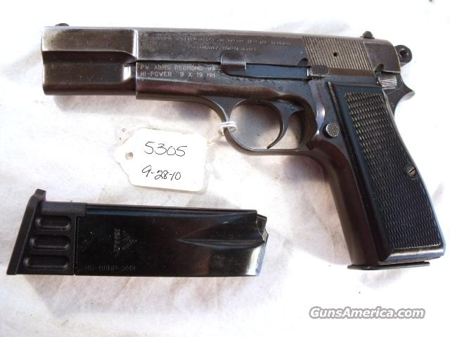 FN Browning Hi-Power Israeli Good 1968 w/2 Magazines 9mm High Power HiPower Belgian Belgium  Guns > Pistols > Browning Pistols > Hi Power