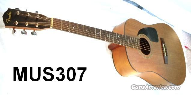 Guitar Fender Acoustic DG-5 VG Cond  Non-Guns > Cowboy Action/Western