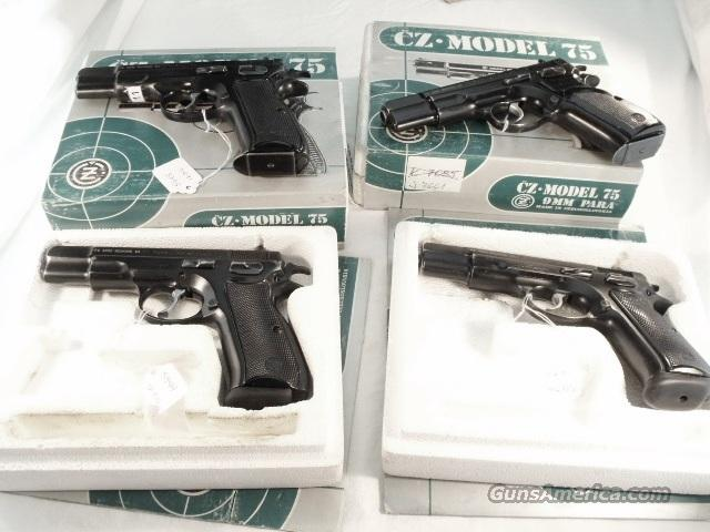 CZ-75 9mm Czech Police 1992 VG Dept Issue Box 1 Mag CZ75 CZ 75  Guns > Pistols > Military Misc. Pistols Non-US