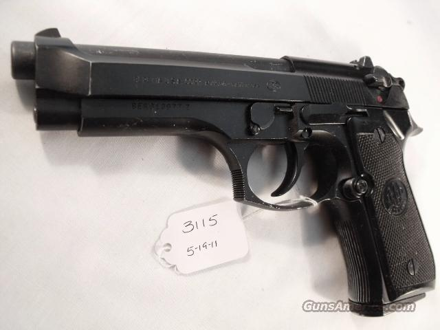 Beretta 9mm Model 92F 1988 Los Angeles County Sheriff's Department  G-VG with 1 Pre-Ban 15 Round Magazine  Guns > Pistols > Beretta Pistols > Model 92 Series