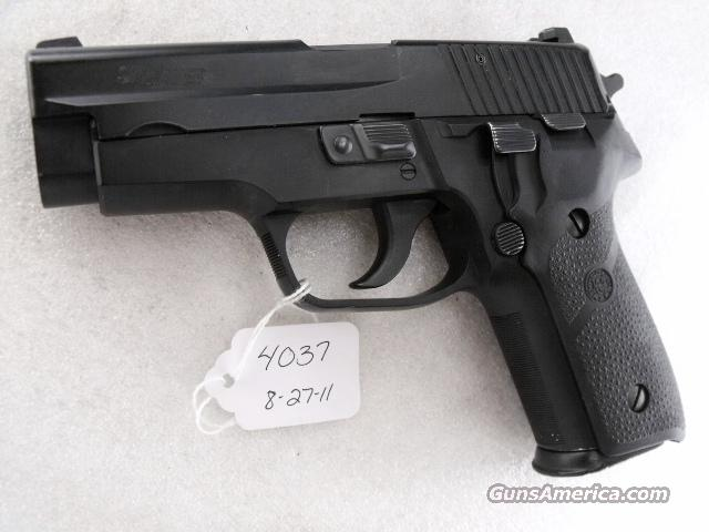 Sig 9mm P228 Swiss Police 14 Shot 2005 VG-Exc  2 Magazines Night Sights K Kote All German Sig Sauer P-228 CA OK  Guns > Pistols > Sig - Sauer/Sigarms Pistols > P228