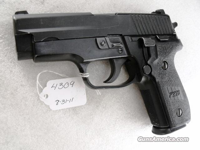 Sig 9mm P228 Swiss Police 14 Shot 2005 VG-Exc  2 Magazines Night Sights All German Sig Sauer P-228 CA OK Solothurn Shield  Guns > Pistols > Sig - Sauer/Sigarms Pistols > P228